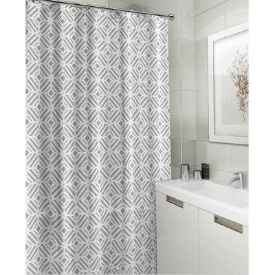 Royal Fabric Shower Curtain Color: Gray