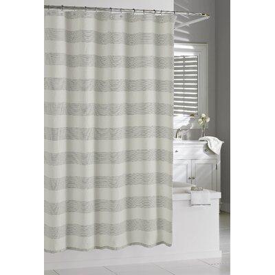 Burdella Linen Shower Curtain