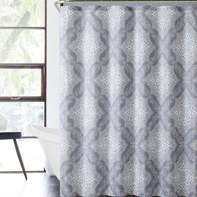 Juliette Royal Bath Windsor Damask Polyester Shower Curtain