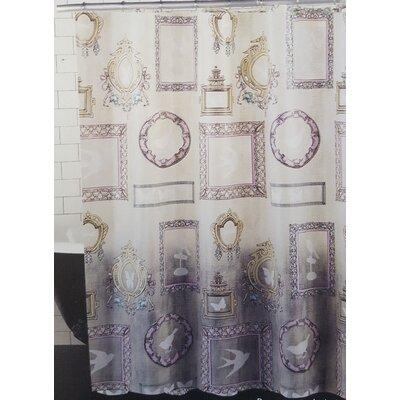 Becontree Glamour Girl Vanity Vinyl Shower Curtain