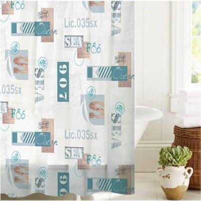 McSheffrey Bath License to Sail Shower Curtain