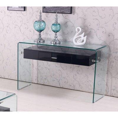 Console Table Color: Black