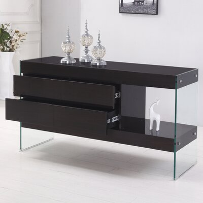 4 Drawer Accent Chest Color: Cappuccino