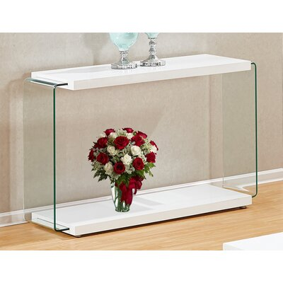Iglesias Console Table Color: White