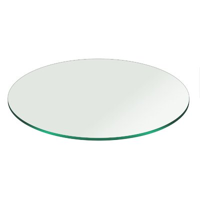 "Tempered Pencil Polish Table Top Size: 20"" L x 20"" W"