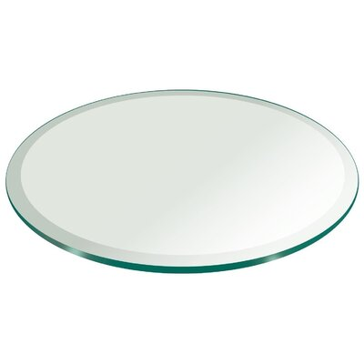 """Tempered Table Top Size: 30""""L x 30""""W"""