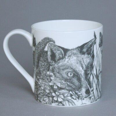 Cream Cornwall Game and Garden Fox Mug