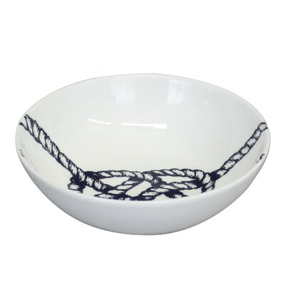 Cream Cornwall Maritime Knot Cereal Bowl