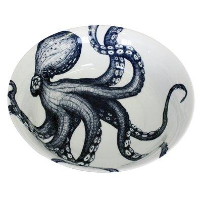 Cream Cornwall Octopus Salad Bowl