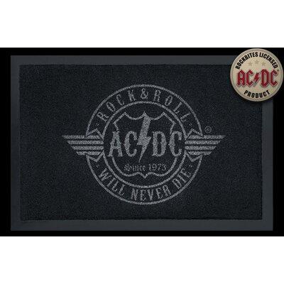 Rockbites Fußmatte AC/DC - R´n´R will never die