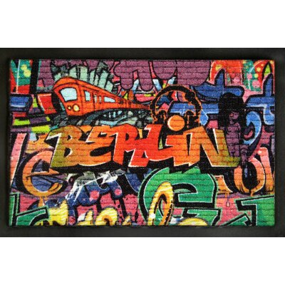 Rockbites Fußmatte Berlin Graffiti