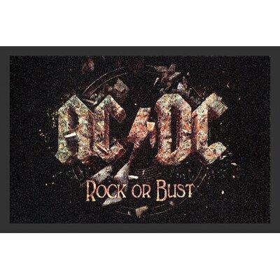 Rockbites Fußmatte AC/DC Rock or Bust