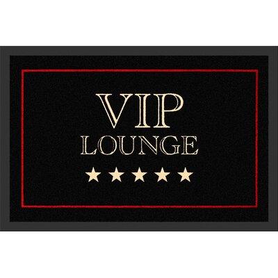 Rockbites Fußmatte VIP Lounge Schwarz