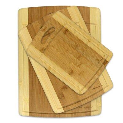Heim Concept 3 Piece Organic Bamboo Cutting Board
