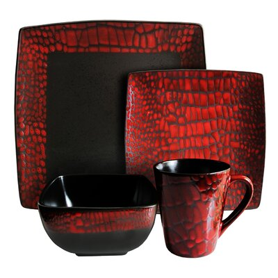 Design Guild Boa 16 Piece Dinnerware Set
