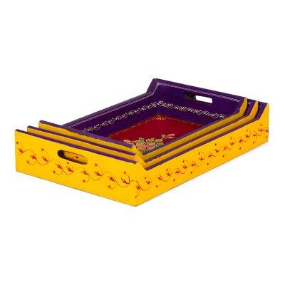 Massivum 3-tlg. Tablett Set Diwali