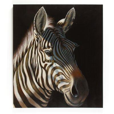 Massivum Leinwandbild Zebra