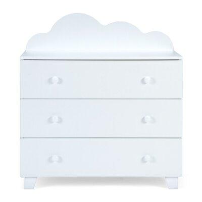 Massivum Kommode Cloudy mit 3 Schubladen