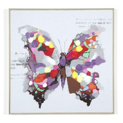 Massivum Leinwandbild Schmetterling