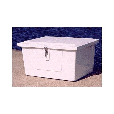 """Plastic Deck Box Size: 18"""" H x 33"""" W x 24"""" D"""