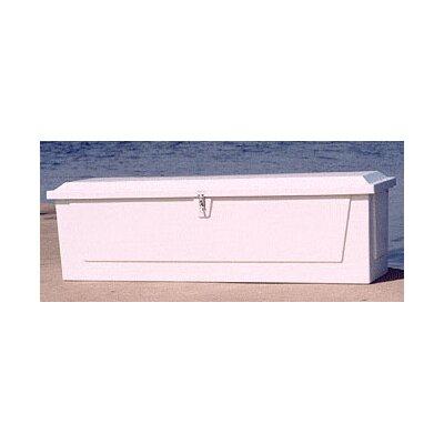 """Plastic Deck Box Size: 24.25"""" H x 85"""" W x 22"""" D"""