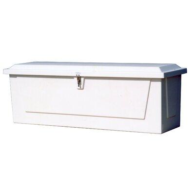 """Plastic Deck Box Size: 24.25"""" H x 72"""" W x 22"""" D"""