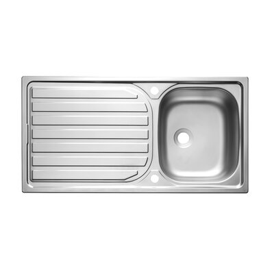 Astracast Bonsai 96.5cm x 50cm 1.0 Bowl Kitchen Sink