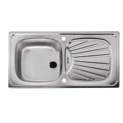Astracast Elm 86cm x 43.5cm 1.0 Bowl Kitchen Sink