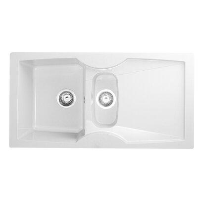 Astracast Labumum 100cm x 52cm 1.5 Bowl Kitchen Sink