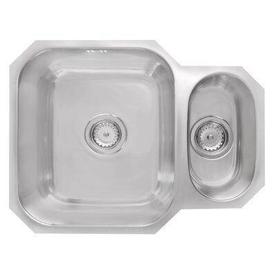 Astracast Sorrel 58cm x 45cm 1.5B Reversible Undermount Kitchen Sink
