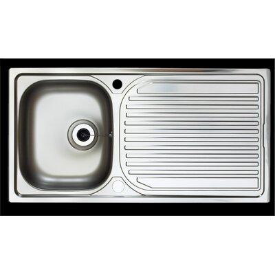 Astracast Sycamore 96.5cm x 50cm 1.0 Bowl Kitchen Sink