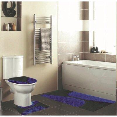 Holler 3 Piece Bath Rug Set