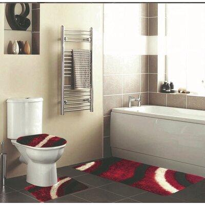 Hollifield 3 Piece Bath Rug Set