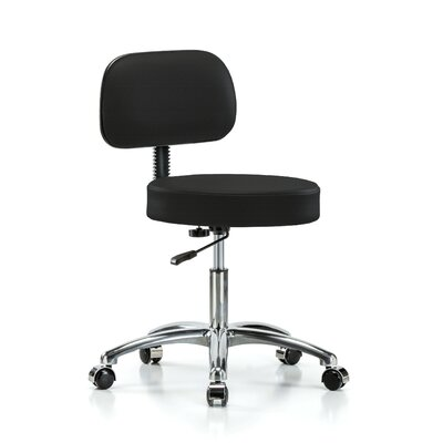 """Office Chair Color: Black Fabric, Size: 36"""" H x 24"""" W x 24"""" D"""