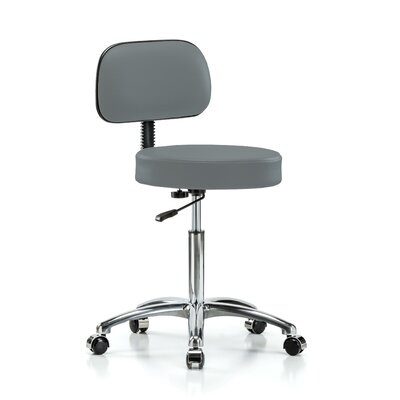 """Office Chair Color: Cinder Fabric, Size: 41.25"""" H x 24"""" W x 24"""" D"""
