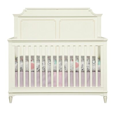 Clementine Court Built-to-Grow 2-in-1 Convertible Crib Color: Frosting
