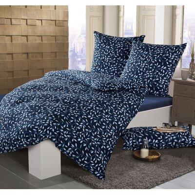 Sternenzelt Bettwäsche-Set Mila aus Mako-Satin