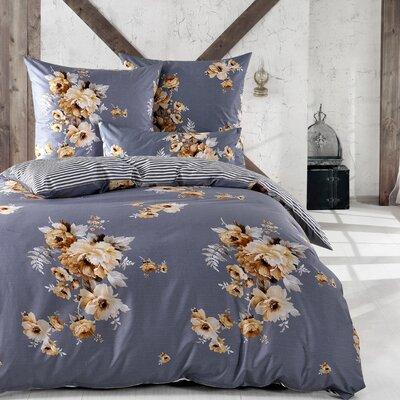 Sternenzelt Bettwäsche-Set Luisa aus 100% Baumwolle