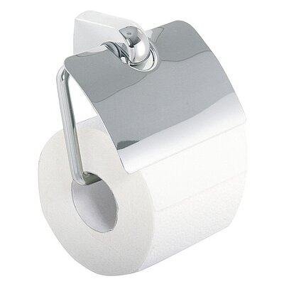 Bravat Metasoft Wall Mounted Toilet Roll Holder with Flap