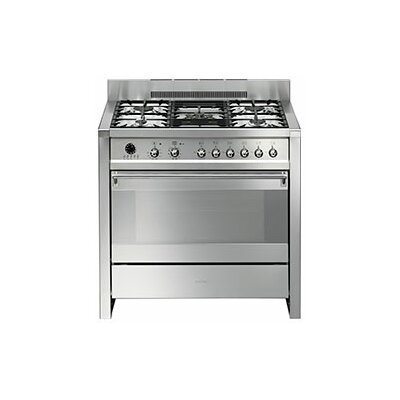 "Opera 35"" Free-standing Gas Range with Griddle"
