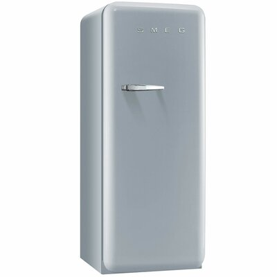 9.2 cu. ft. All- Refrigerator with Ice Compartment Color: Silver, Handle Location: Left