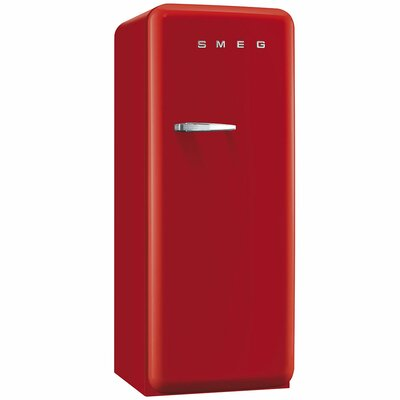 9.2 cu. ft. All- Refrigerator with Ice Compartment Color: Red, Handle Location: Left