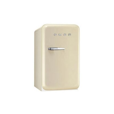 1.5 cu. ft. Compact Refrigerator Color: Cream, Hinge: Right