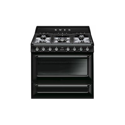 "Victoria 36"" Free-standing Gas Range Color: Black"