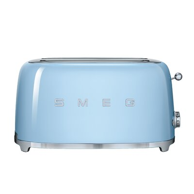 50s Style 4 Slice Toaster Color: Pastel Blue