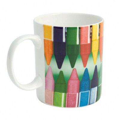 Designed in Colour Eames Bone China Crayons Mug