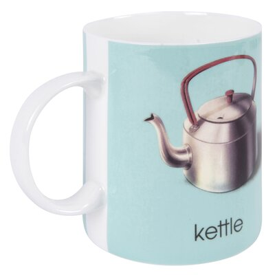 Designed in Colour Ladybird K-Kettle Mug