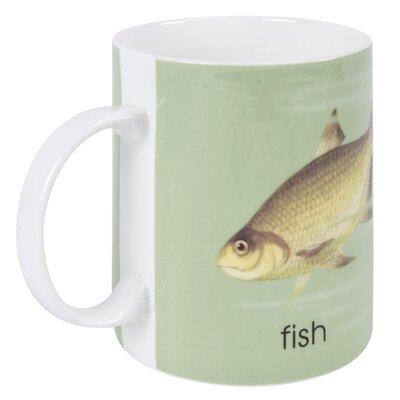 Designed in Colour Ladybird F-Fish Mug