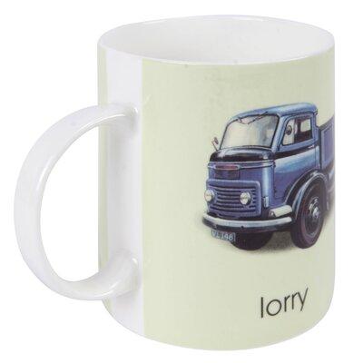 Designed in Colour Ladybird L-Lorry Mug