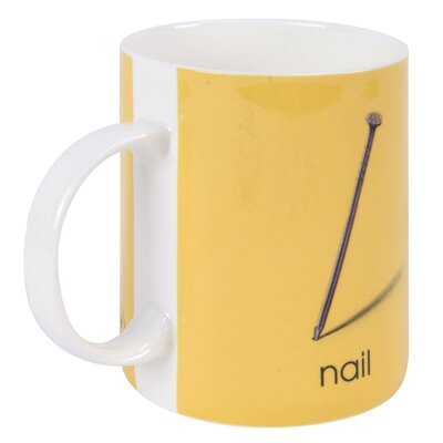 Designed in Colour Ladybird N-Nail Mug
